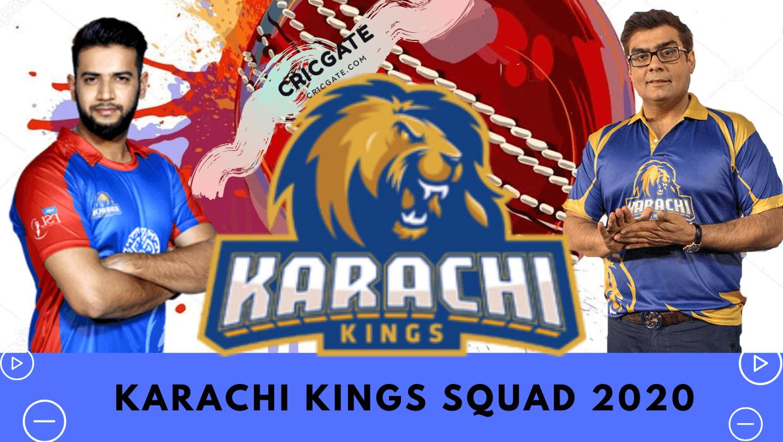 Karachi Kings Squad 2020