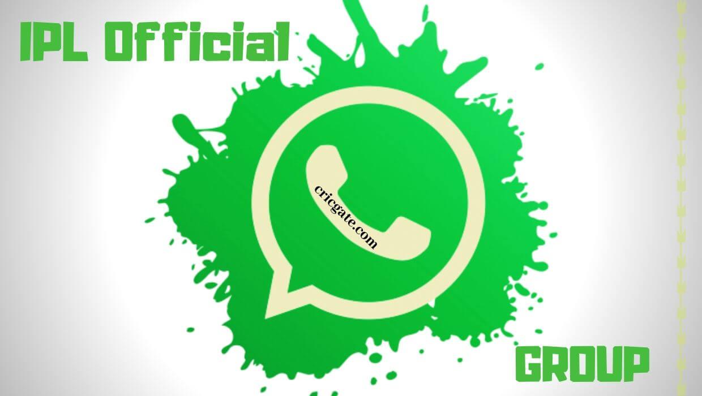 IPL Whatsapp Group