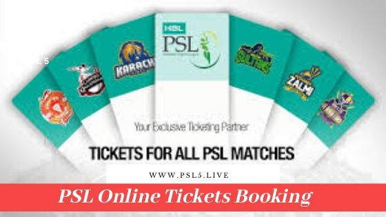 PSL 5 Tickets Booking