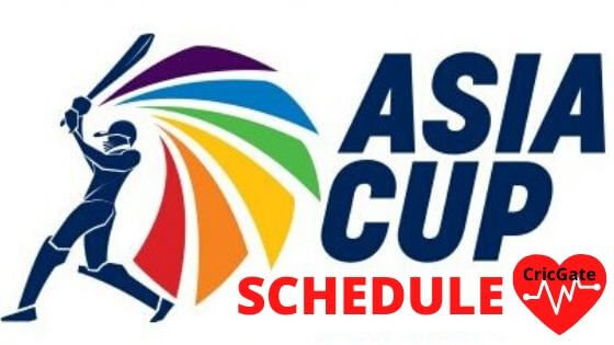 Asia Cup Schedule 2020