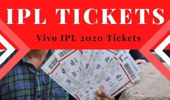 IPL Tickets 2020
