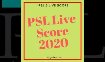 PSL 5 Live Score