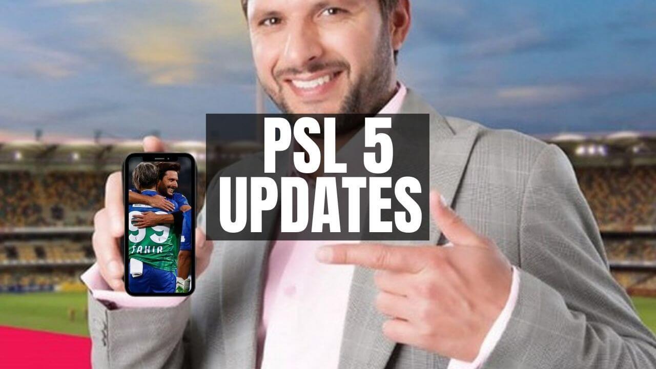 PSL 5 UPDATES